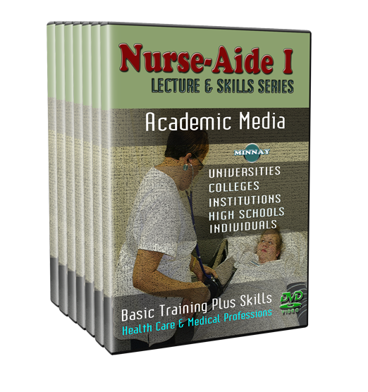 CNA I DVDs Skill and Lectures — dvd4learning