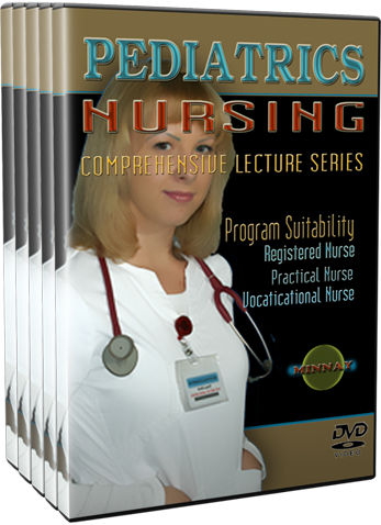 Pediatrics (Child Health) Nursing DVDs