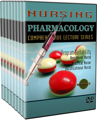 Nursing Pharmacology DVDs — dvd4learning